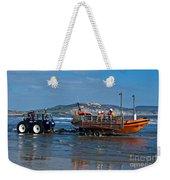 Bringing In The Lifeboat Weekender Tote Bag