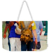 Bringing The Sunflower Home Weekender Tote Bag
