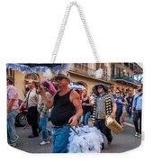 Bringing Up The Rear Weekender Tote Bag