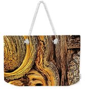 Bristlecone Pine Bark Detail White Mountains Ca Weekender Tote Bag