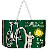 Britains Best Bicycle Weekender Tote Bag