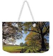 British Autumn Weekender Tote Bag
