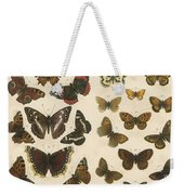 British Butterflies Weekender Tote Bag