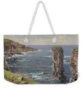 British Coastal View. Coast Of Cornwall Weekender Tote Bag