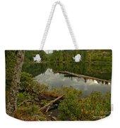 British Columbia Starvation Lake Weekender Tote Bag