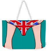 British Girl   Weekender Tote Bag