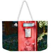 British Mail Box Weekender Tote Bag