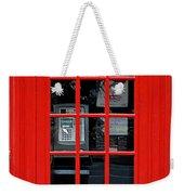 British Phone Box Weekender Tote Bag