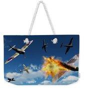 British Supermarine Spitfires Battle Weekender Tote Bag