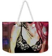 Britney - Pretty In Pink Weekender Tote Bag
