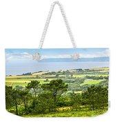 Brittany Landscape With Ocean View Weekender Tote Bag by Elena Elisseeva