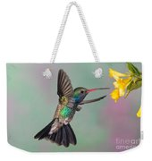 Broad-billed Hummingbird Weekender Tote Bag by Jim Zipp