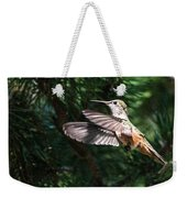 Broad-tailed Hummingbird Weekender Tote Bag