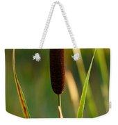 Broadleaf Cattail Weekender Tote Bag