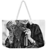 Broadway Actress Claire Luce Weekender Tote Bag