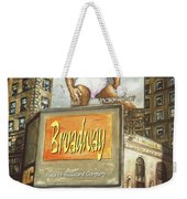 Broadway Billboards - New York Art Weekender Tote Bag