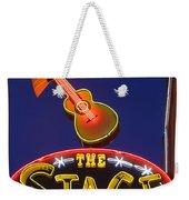 Broadway Neon Sign Weekender Tote Bag