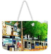 Broadway Oyster Bar With A Boost Weekender Tote Bag