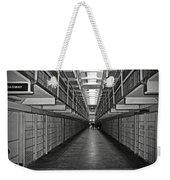 Broadway Walkway In Alcatraz Prison Weekender Tote Bag by RicardMN Photography