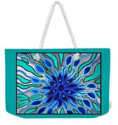 Broken Angel Blooms Weekender Tote Bag by Barbara St Jean
