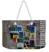 Broken Collage Weekender Tote Bag