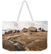 Broken Glacial Erratics Weekender Tote Bag