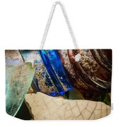 Broken Glass From The Past Weekender Tote Bag