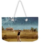 Broken Glass Sky Weekender Tote Bag