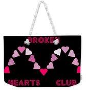 Broken Hearts Club Weekender Tote Bag