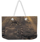 Broken Road Weekender Tote Bag