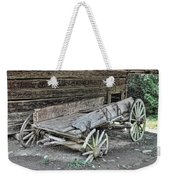 Broken Wagon Weekender Tote Bag
