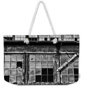 Broken Windows In Black And White Weekender Tote Bag by Paul Ward