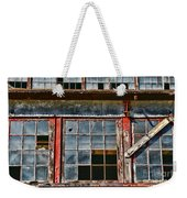 Broken Windows Weekender Tote Bag by Paul Ward