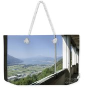 Broken Windows With Panoramic View Weekender Tote Bag