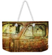 Broken Windshield Weekender Tote Bag