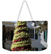 Bromelia Christmas Tree Weekender Tote Bag