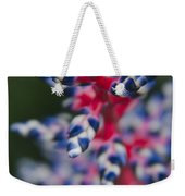 Bromeliad - Aechmia Dichlamydea - Guzmania Lingulata Weekender Tote Bag