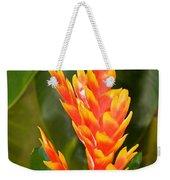 Bromeliad Flower Weekender Tote Bag