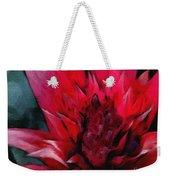 Bromeliad Splendor Weekender Tote Bag