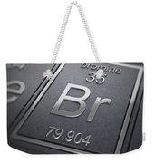 Bromine Chemical Element Weekender Tote Bag