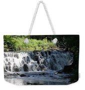 Bronx River Waterfall Weekender Tote Bag by John Telfer