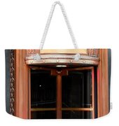 Bronze Doors Weekender Tote Bag