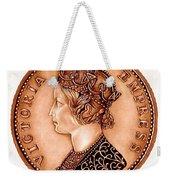 Bronze Empress Victoria Weekender Tote Bag