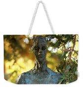 Bronze Man Weekender Tote Bag