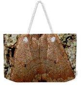 Bronze Moth Weekender Tote Bag