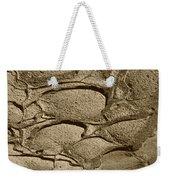 Bronze Mud Patterns 2 Weekender Tote Bag
