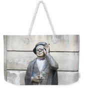 Bronze Statue Stockholm - Evert Taube Weekender Tote Bag