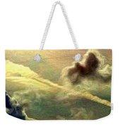 Bronzed Clouds - Vertical Weekender Tote Bag