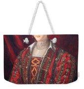Bronzino's Eleonora Di Toledo Weekender Tote Bag
