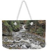 Brook In October Weekender Tote Bag